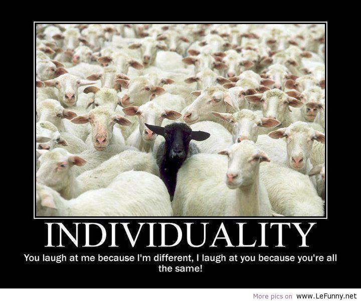 quote on being individual