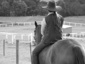 Tash riding