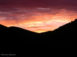 Sunset at Arkaroola