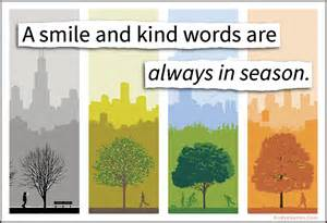 kindness in season