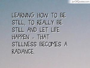 stillness quote