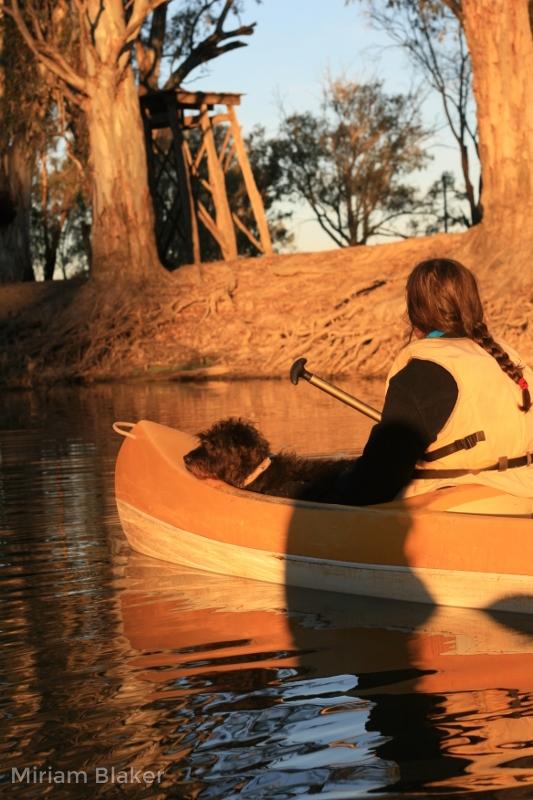 Tash and Harry paddling (533x800)