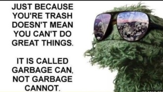 trash garbage quote