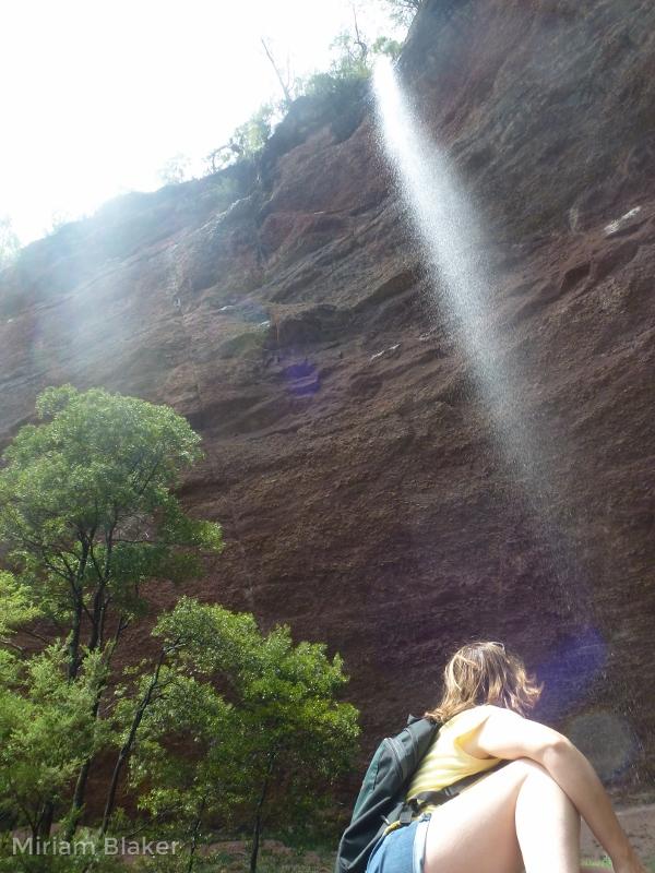 Underneath a waterfall (600x800)