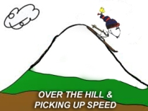 x-over-the-hill-and-picking-up-speed