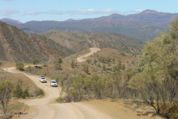 Driving the Flinders Ranges
