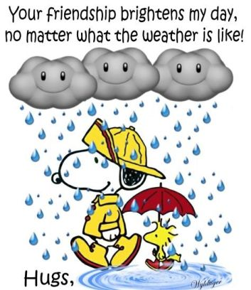 snoopy weather