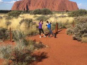Mucking around at the Rock 1