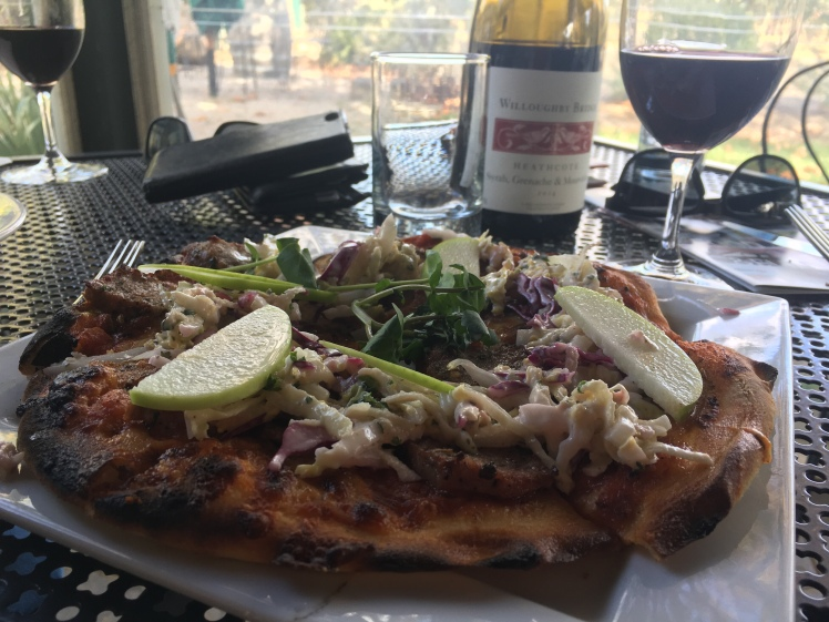 Pizza and red wine anyone?