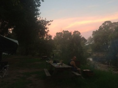 Camping at Gentle Annie