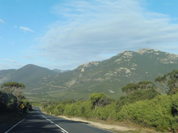 Mount Oberon looms ahead