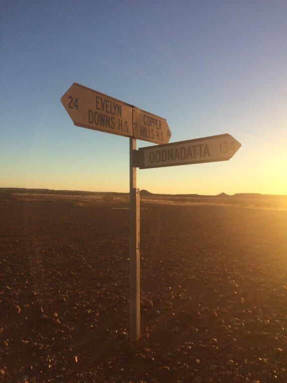 Signs in the Outback