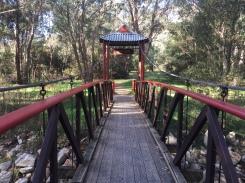 The Chinese bridge at Wandiligong