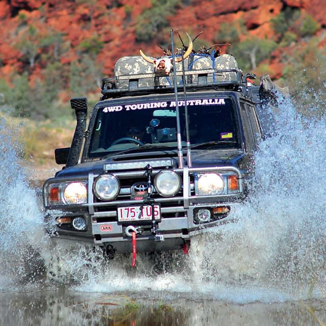 4WD Touring in action